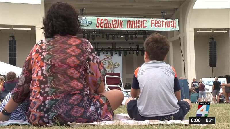 Annual Seawalk Music Festival underway