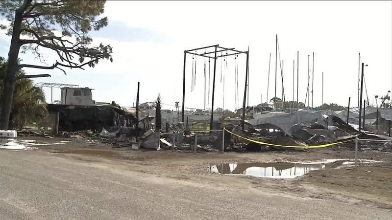 Fernandina Beach fire