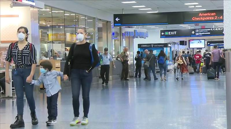 Miami International Airport still allowing flights from Europe