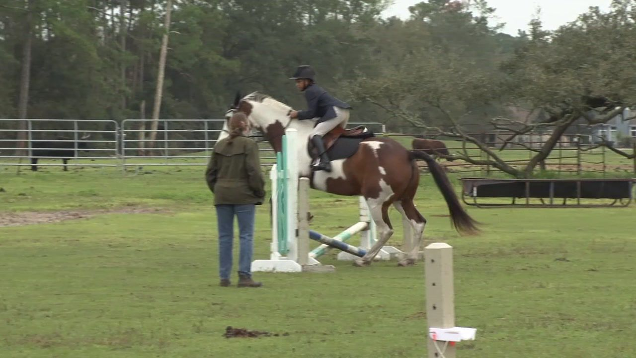 Young equestrian helping raise awareness that competitive riding needs to be more diverse