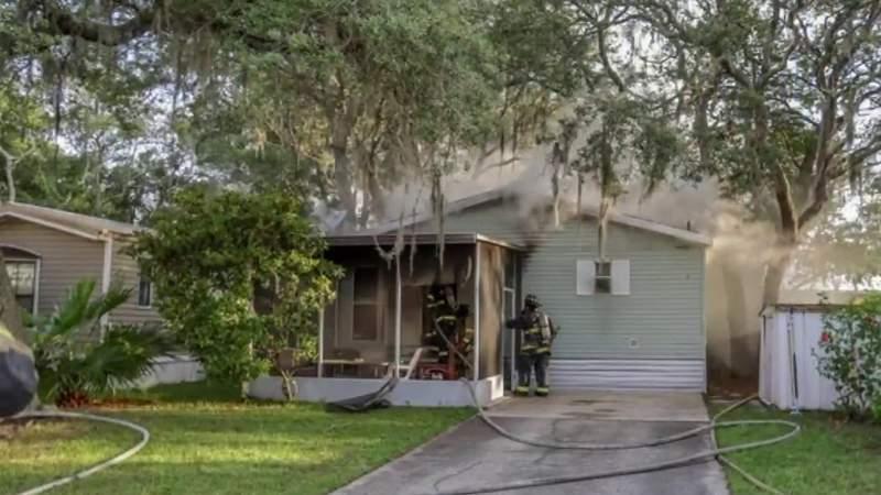 Man, 64, dies in house fire in Admiral's Walk neighborhood