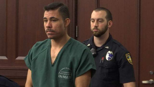 Lee Rodarte appears in court for arraignment