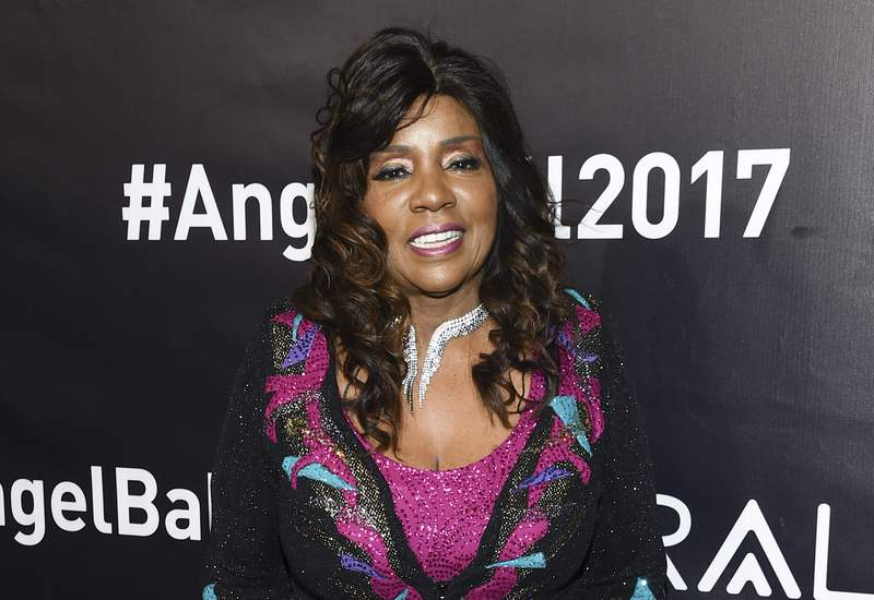 """FILE - Singer Gloria Gaynor attends the Angel Ball, hosted by Gabrielle's Angel Foundation for Cancer Research on Oct. 23, 2017, in New York. Gaynor will sing her anthem, """"I Will Survive"""" during the New Year's Eve celebration in Times Square as a celebration of perseverance, honoring essential workers. (Photo by Evan Agostini/Invision/AP, File)"""