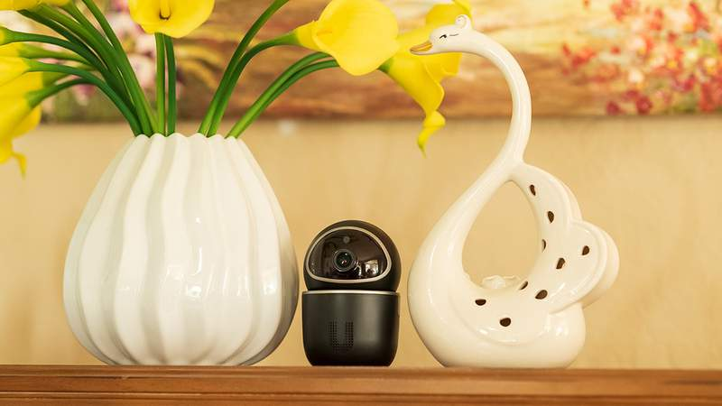 Keep an eye out of your home or small office with the Ucam Private Home Security Camera.