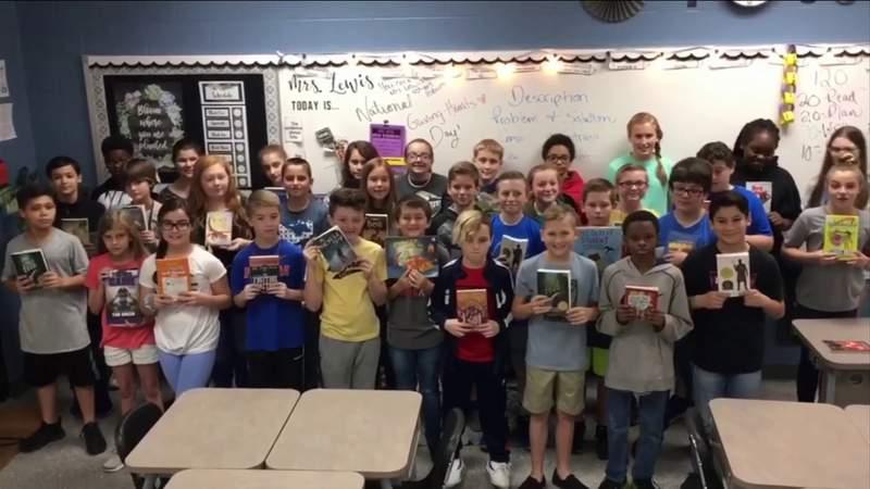 Palatka class wins 'Reading Awareness Month' contest