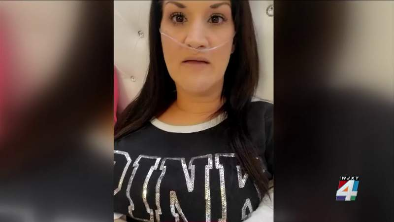 Lake Butler woman shares her near-death experience after contracting COVID-19