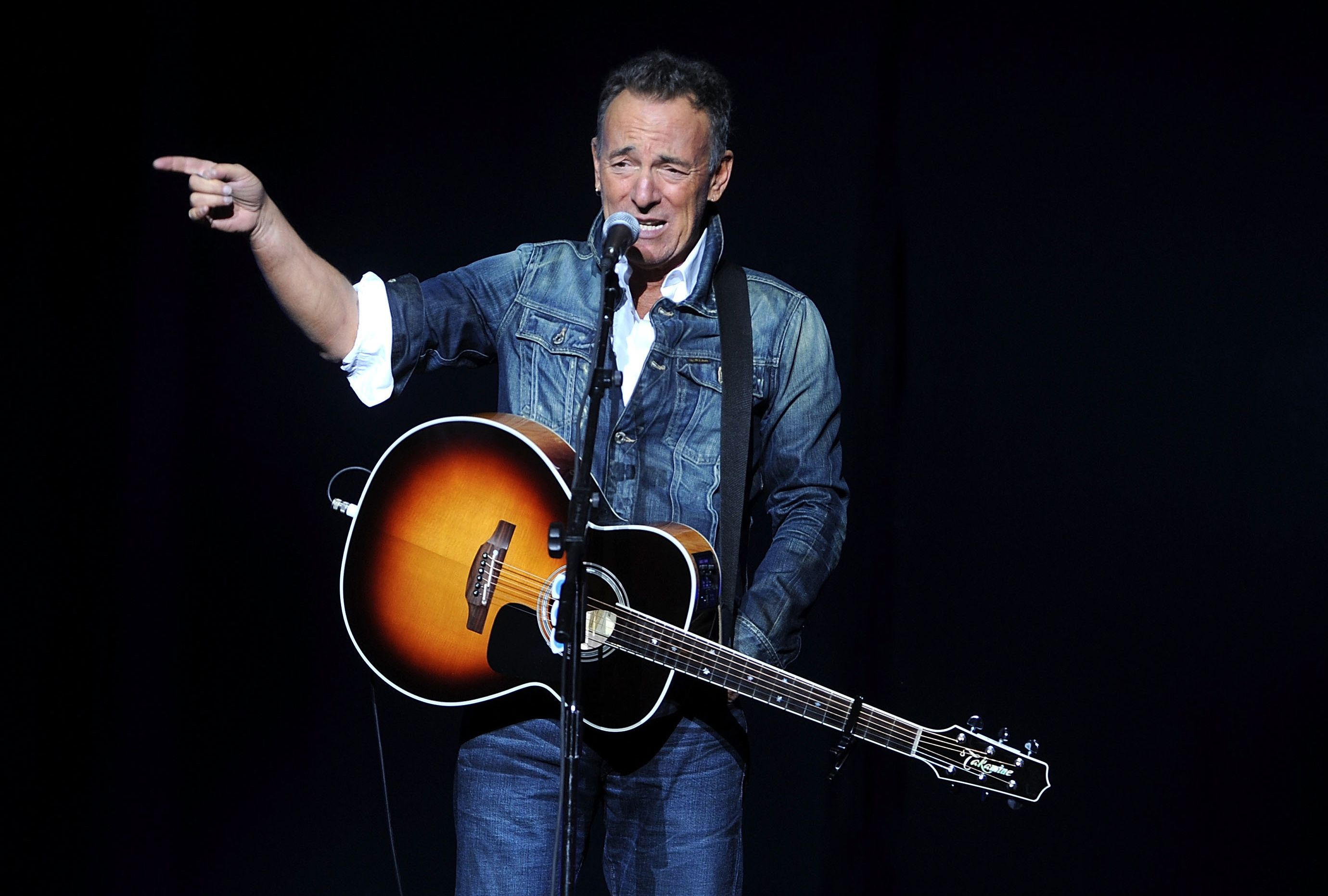 The Latest: Springsteen, Miranda set for inaugural gala