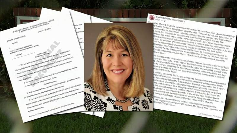 Bradford superintendent sued after conflict with Special Olympics organizer