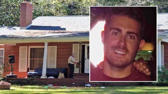 Andrew Coffey died Friday morning at a house where a fraternity house party had been held the night before.