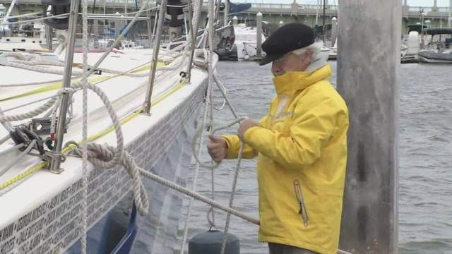 VIDEO: He fell short of his goal to sail solo around the world. However, Dr. Stanley Paris still has quite the story to tell.