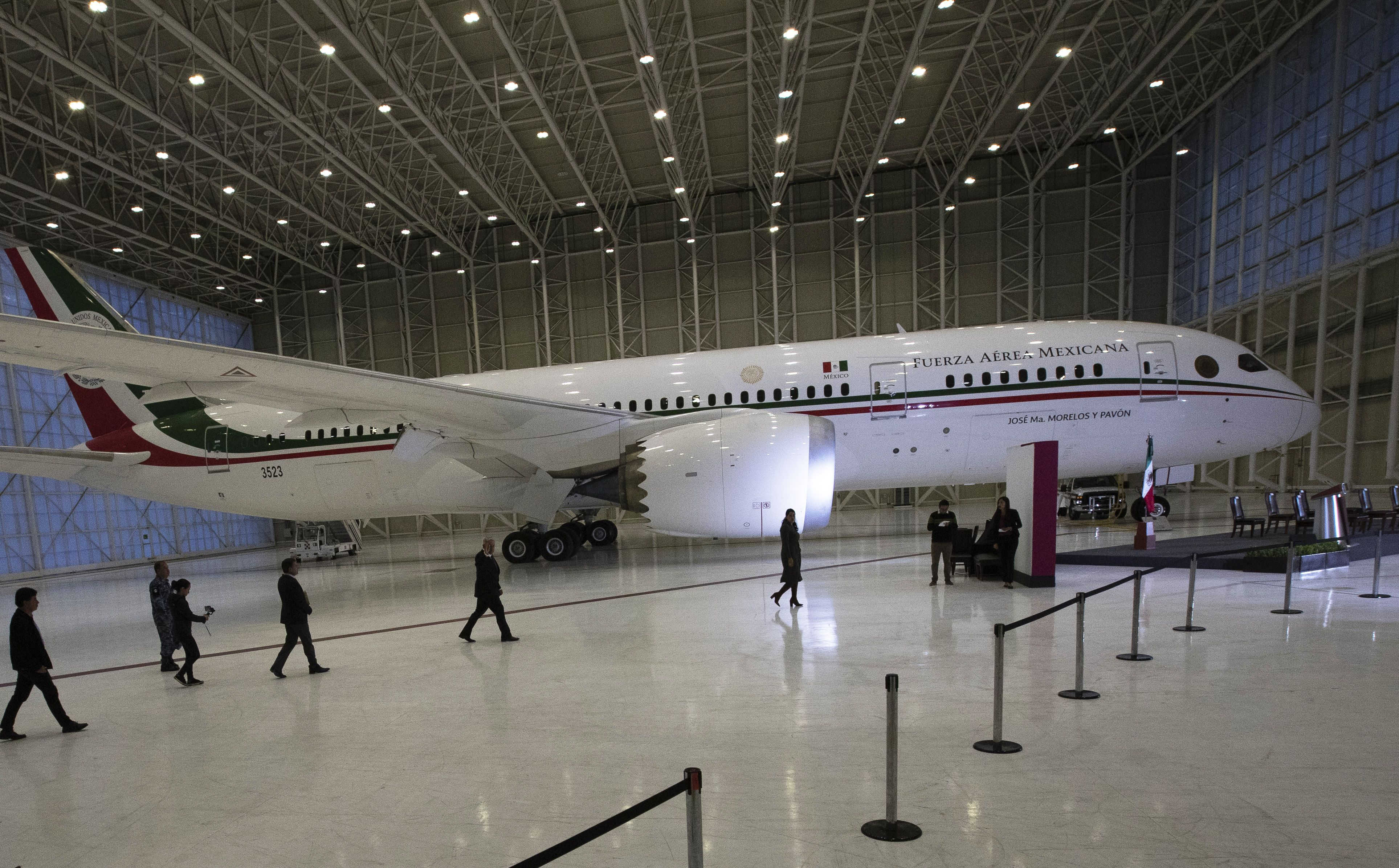 Mexico bid to sell presidential jet stretches into 3rd year