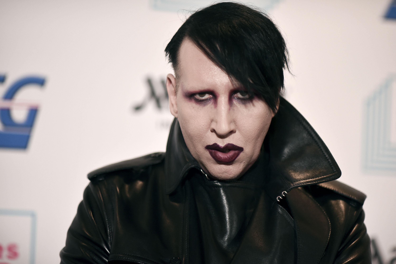 Police eye Marilyn Manson in domestic violence investigation