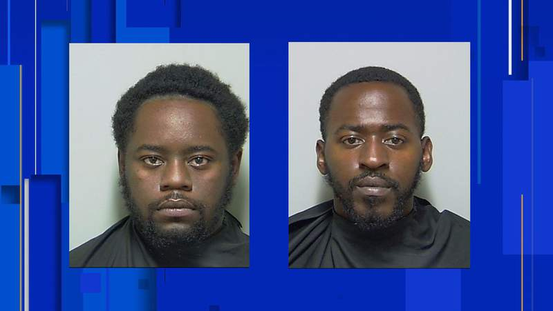 Decarius Dominique Howell (left) and Tre'monte Edward Hargrove (right) were charged in connection with the shooting death of a 21-year-old man in Interlachen.