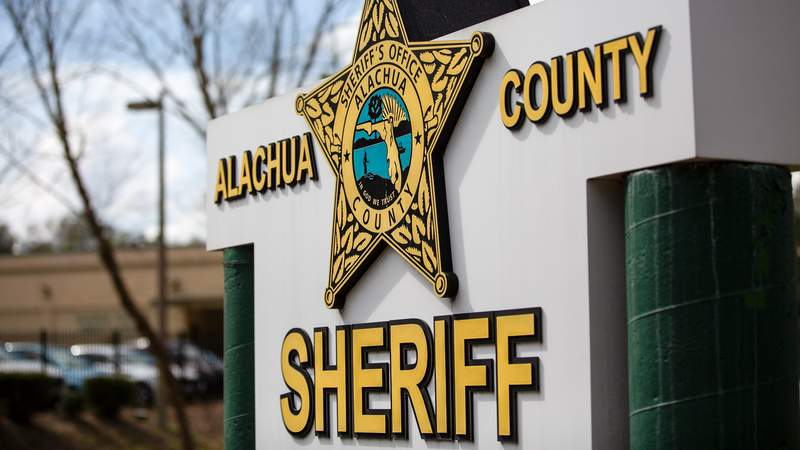 Alachua County Sheriff's Office sign