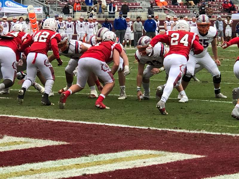 Bolles and Cardinal Gibbons during the Class 4A state championship game on Thursday.