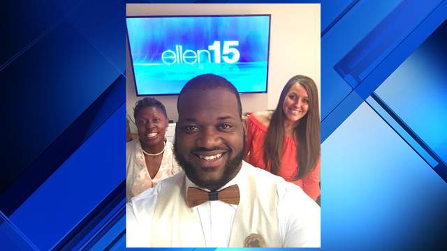 """Duval County teacher Victor Chrispin and two other teachers were featured on Tuesday's """"The Ellen Show"""" broadcast."""