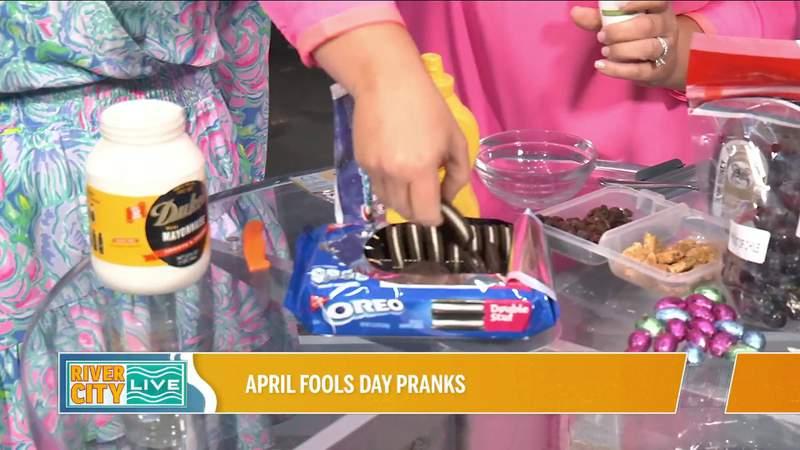 April Fools Day Pranks! with Jacksonville Mom | River City Live