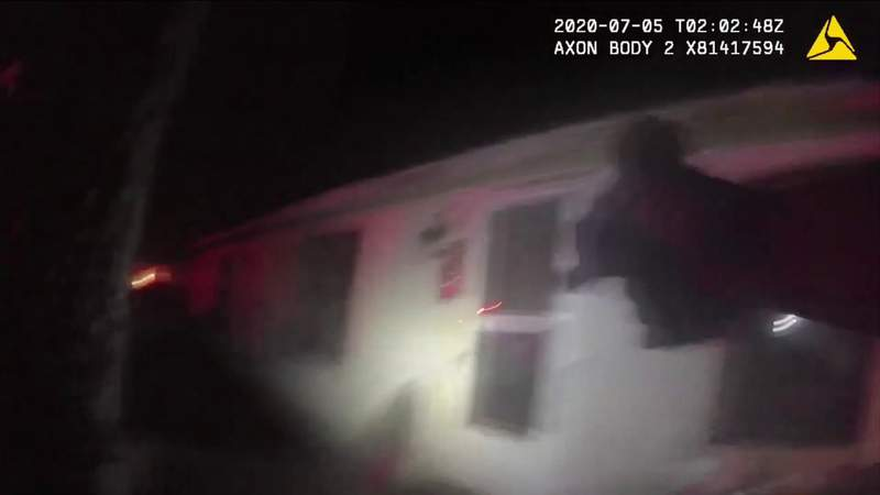Body camera video of officer shooting released