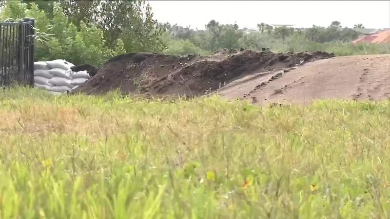 City of St. Augustine building berm to protect flood-prone neighborhood