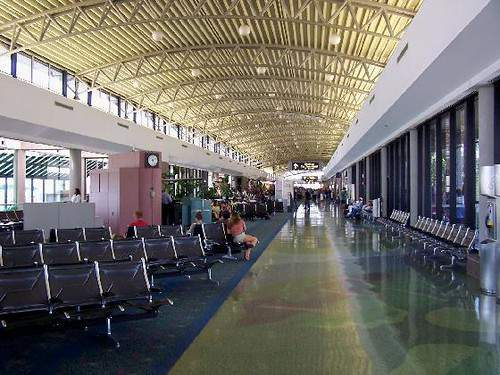 Inside the Tampa International Airport. File photo
