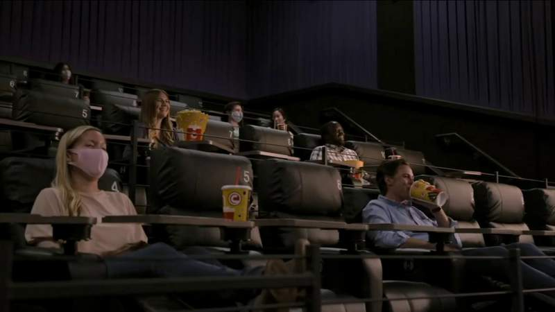 Going to the movies on Christmas looks different amid the pandemic