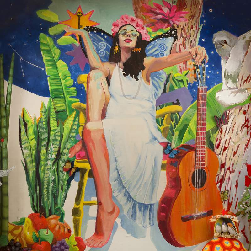 """This cover image released by Sony Music Latin shows """"Portas,"""" the latest album by Marisa Monte. (Sony Music Latin via AP)"""