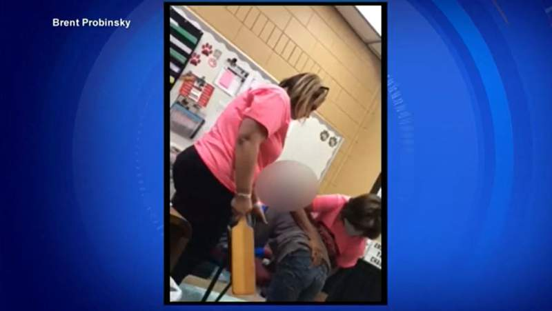Florida principal seen on camera spanking young girl ( PHOTO & VIDEO -- WPLG   Brent Probinsky