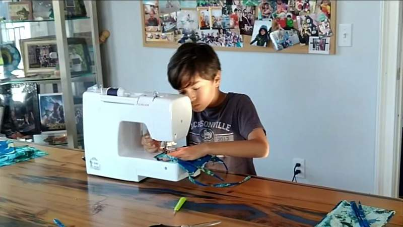 10 Year Old Helps Families of his Classmates Combat COVID-19