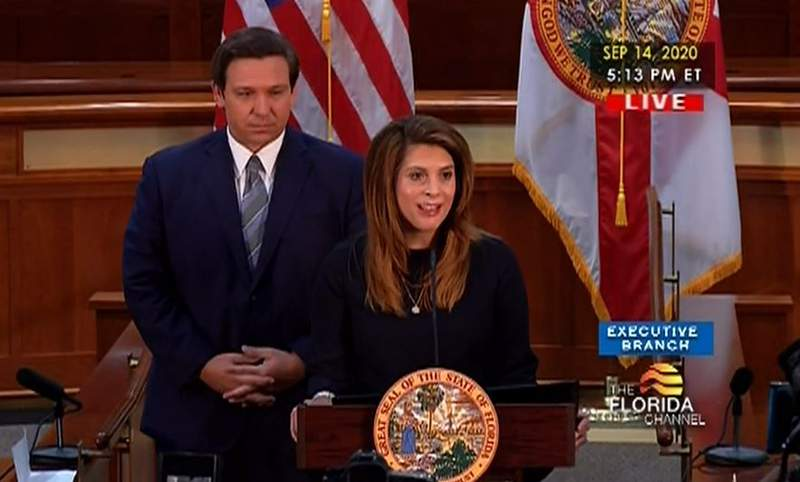 Gov. Ron DeSantis on Monday named Jamie Grosshans, a judge on the 5th District Court of Appeal, to the Florida Supreme Court.