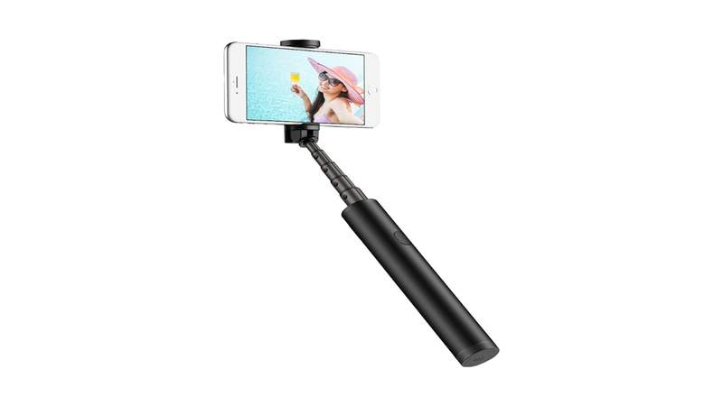 Relive summer vacation memories with this ultra-compact selfie stick.