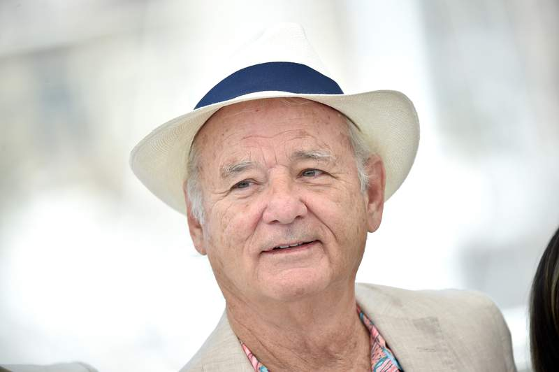 """Bill Murray attends the """"New Worlds: The Cradle Of Civilization"""" photo-call during the 74th annual Cannes Film Festival on July 16, 2021 in Cannes, France."""