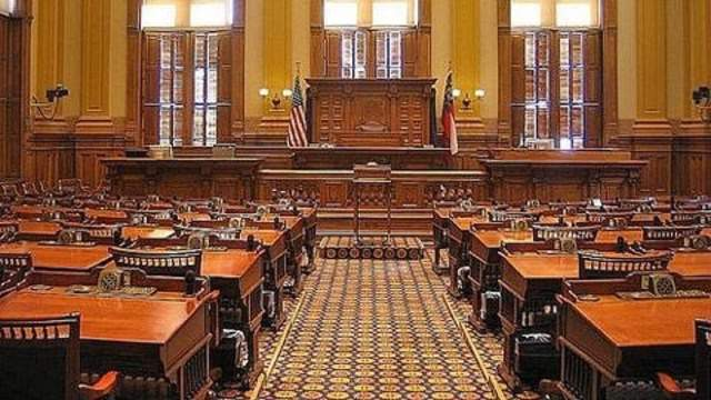 Georgia Senate chambers
