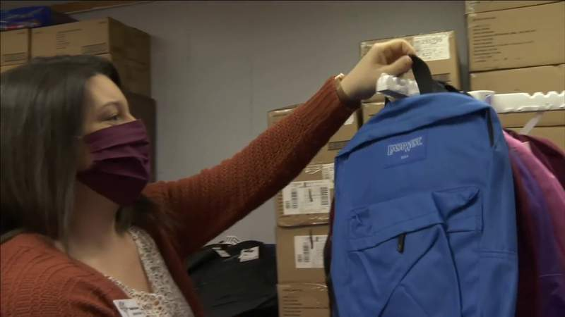 Clay County Teachers Getting Supplies for the Classroom