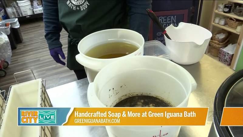 Handcrafting Soap at Green Iguana Bath   River City Live
