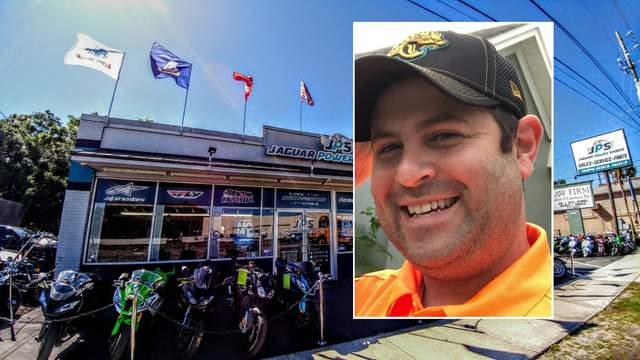 Shaun Jackrel is the owner of Jaguar Power Sports in Jacksonville.