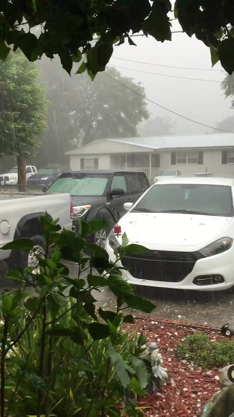 Hail video 2