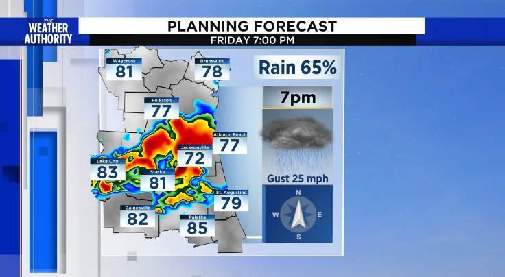 Forecast models believe so...