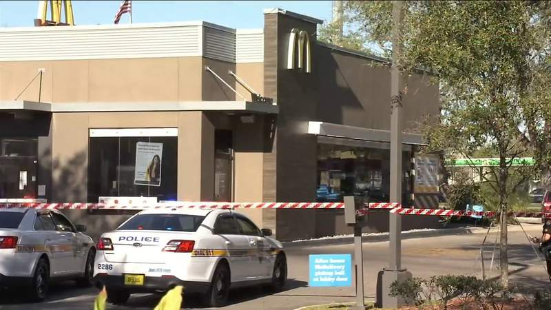 Man in 60s stabbed at Jacksonville McDonald's dies at hospital
