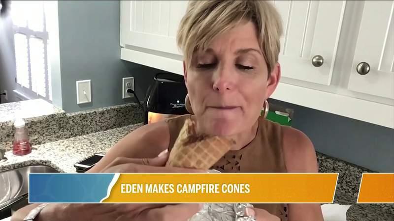 Eden Eats...Campfire Cones | River City Live
