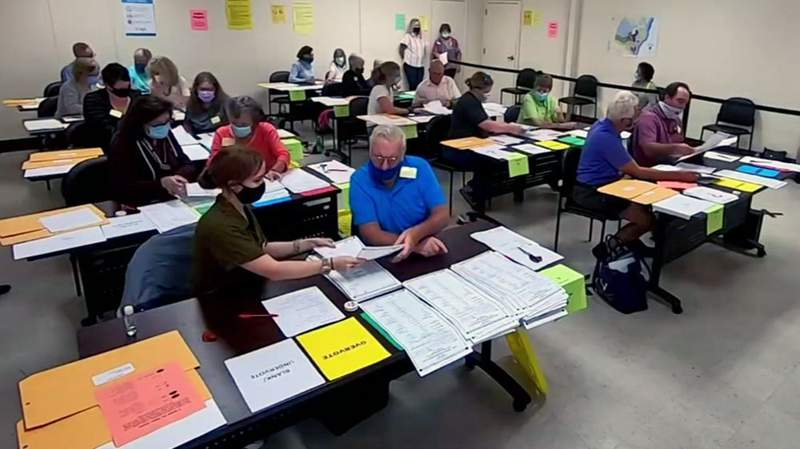 Glynn County elections staff begin audit/recount of 2020 presidential race.