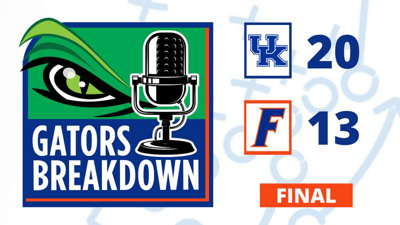 Florida falls to 3-2 after loss to Kentucky