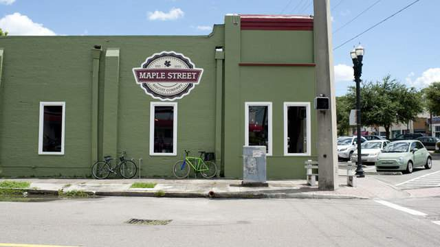 Maple Street Biscuit Company's Murray Hill location on Edgewood Avenue South (Photo courtesy: Maple Street Biscuit Company)