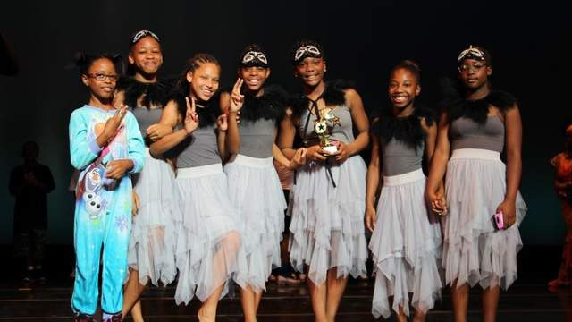 Rising Stars talent show first place winners: Panthers Dance, S.A. Hull Elementary School