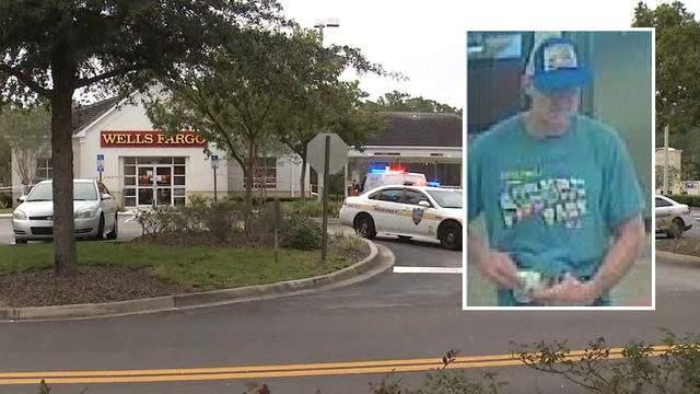 Bartram Park Wells Fargo surveillance image released by the Jacksonville Sheriff's Office