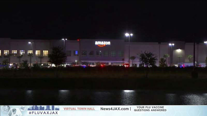 Police charge man with murder in shooting at Jacksonville Amazon center