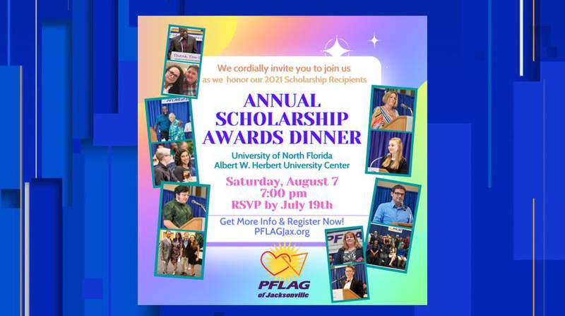 PFLAG announces scholarship banquet for students in Northeast Florida