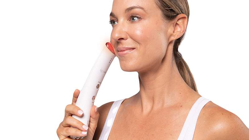 Get rid of acne and wrinkles with this microcurrent facial toner.