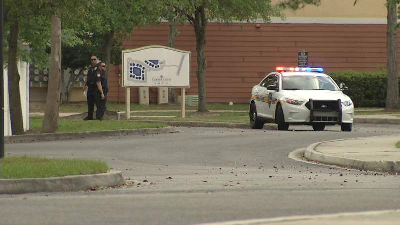 Jacksonville police investigate a deadly shooting Tuesday in the Duclay area.