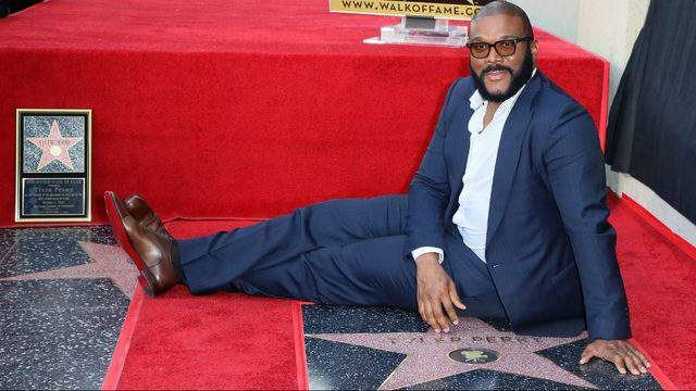 HOLLYWOOD, CALIFORNIA - OCTOBER 01: Tyler Perry attends his being honored with a Star on the Hollywood Walk of Fame on October 01, 2019 in Hollywood, California. (Photo by David Livingston/Getty Images)