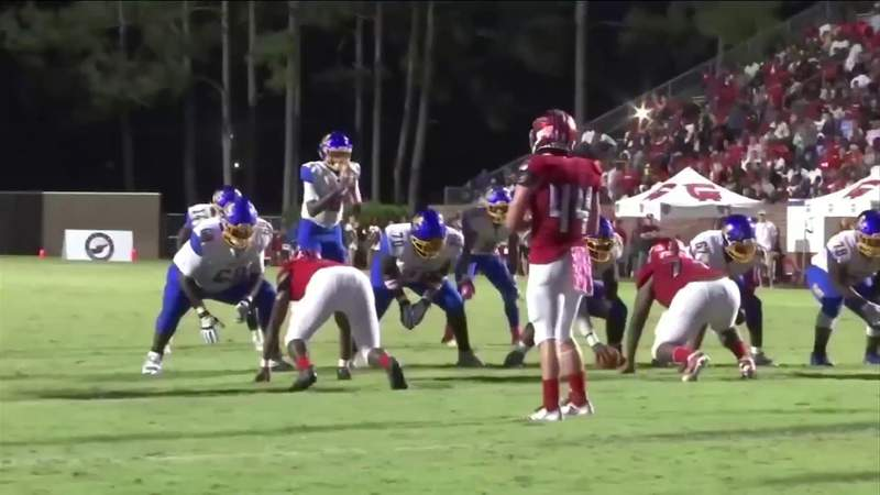 Glynn Academy and Brunswick face off in a 2019 game.